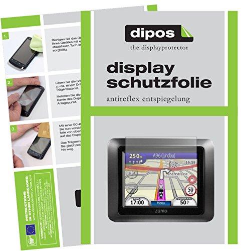 Garmin zumo 210 Schutzfolie - 3x dipos Displayschutzfolie Folie matt