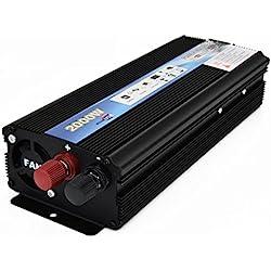 ROKOO 2000 W/4000 W Puissance De Voiture Inverter DC 12 V À Ca 220 V USB Chargeur Convertisseur Transformateur pour Véhicule Camion RV Pick-up