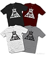 Hommes Fall Out Boy T-SHIRT Save Rock & Roll Album Musique FOB