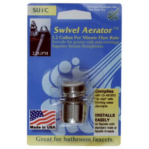 WHEDON PRODUCTS - 2.2-GPM Lead Free Swivel Saver Aerator