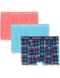 Björn Borg Men's 3p BB Check Boxer Shorts (Pack of 3)