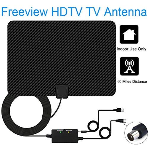 Version Améliorée Antenne TV,EasyULT 60Mile / 95KM Portée...