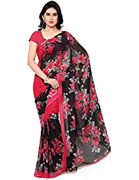 Anand Sarees Georgette Saree with Blouse Piece (1152_1_Multicoloured_Free size)