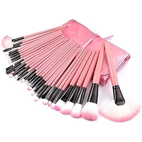 VDOTT® 32 Pezzi morbido set di pennelli, professionale pennelli per