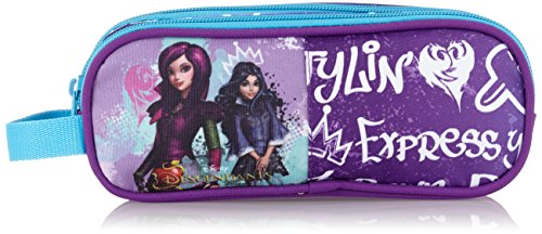 The Descendants 811673707, Estuche, Multicolor (Morado / Azul)