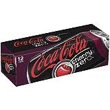 Coca-Cola Zero Cherry kalorienfrei Cola mit Cherry Geschmack, Baumwollmusselin, ML Dosen 144-fl oz