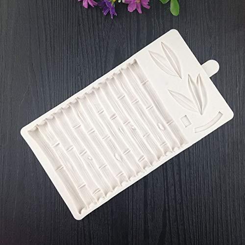 shuaishuang573 3D Bambus Kuchen-Fondant-Formen Bambus Muster Kuchen Border Dekorieren Moulds -