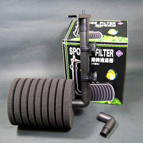 150gal Aquarium Biochemical SPONGE FILTER For FISH TANK bio sponge foam tubing by Aquarium Equip