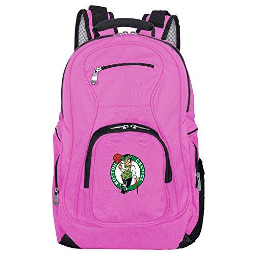 DENCO NBA Boston Celtics Voyager Laptop Backpack, 19-inches, Pink