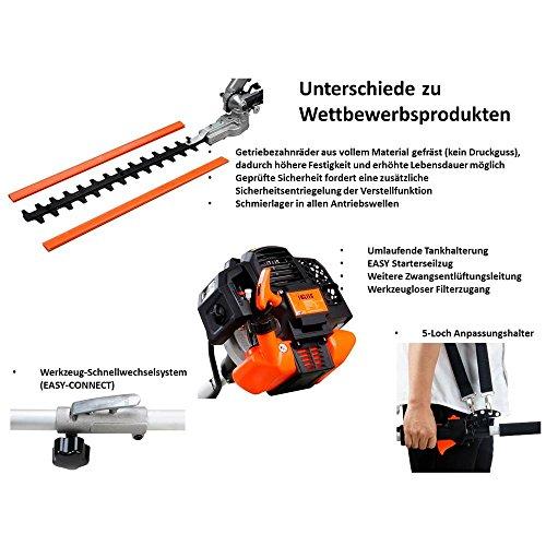 Fuxtec 4in1 FX-MT152 Benzin Heckenschere - 8