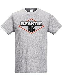 LaMAGLIERIA Camiseta Hombre Slim Beastie Boys - Camiseta Rap Hip-Hop 100%… 42afc48df33