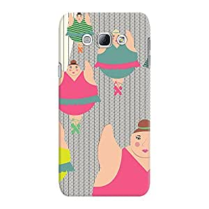 DailyObjects Synchronised Ballerinas Case For Samsung Galaxy A8
