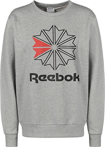 Preisvergleich Produktbild Reebok Classic Herren Sweatshirt Big Iconic Crewneck Grau (13) S