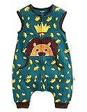 Vaenait baby 80-110 Kleinkinder Jungen 100% Baumwolle Schlafsack Decke Secret Simba Sleep Sleep L