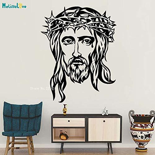 Wandaufkleber Gott Jesus Kopf Religion Christentum Christliche Aufkleber Einzigartiges Geschenk Art Deco Wandbild