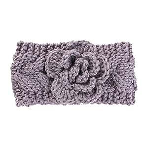 f6dbf7002c87 Nellnissa Kids Baby Infants Warm Wool Crochet Headband Turban ...