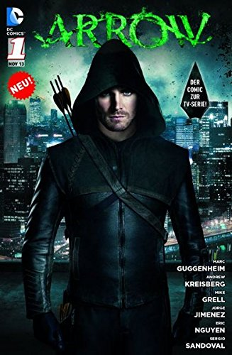 arrow-comic-zur-tv-serie-bd-1-vergeltung