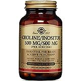 Solgar Choline/Inositol 500 mg/500 mg Vegetable Capsules, 100 V Caps 500 mg/500 mg