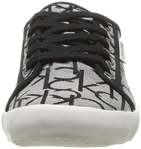 Calvin Klein Jeans Fallon, Chaussures de tennis homme Gris (Gri)