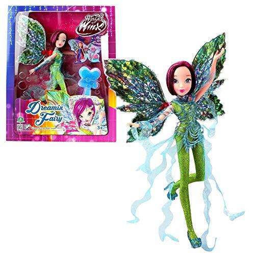 World of Winx - Dreamix Fairy - Hada Tecna Muñeca 28cm con...