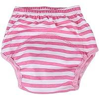 domybest bebé niños transpirable suave algodón pañales pañal pantalones de entrenamiento para niños reutilizable Flores
