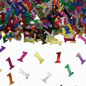 15g de confettis premier Anniversaire Décoration anniversaire tableau