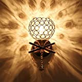 Smartway ® - Golden Crystal Wall Lamp (Warm White)