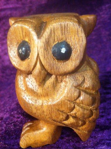 Hibou hooting Sifflet en bois