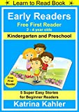 Best Books For Kindergartens - Early Readers - First Learn to Read Book Review