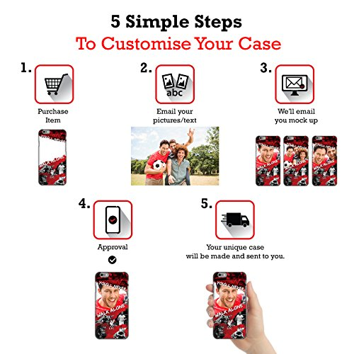 Personalizzata Personale Liverpool Football Club Gol Rosso Liverpool FC Cover Retro Rigida per Apple iPhone X Cornici