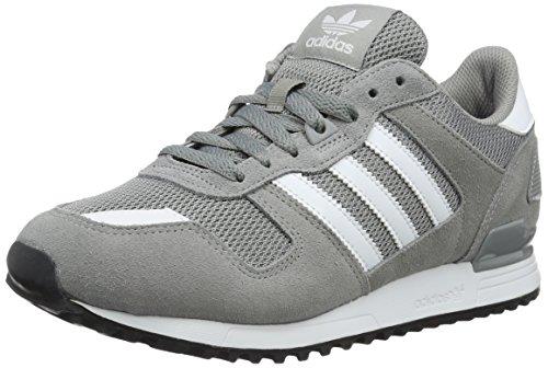 adidas Uomo Zx 700 scarpe sportive, Grigio (Ch Solid Grey/ftwr White/core Black), 43 1/3 EU