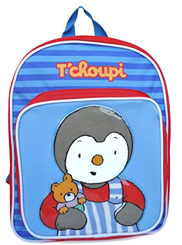 Tchoupi - Sac à Dos 30 cm - Pour Maternelles Moyennes et Grandes Sections