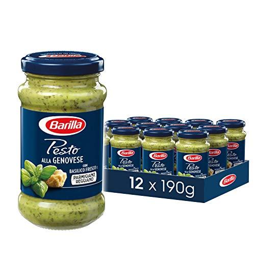 Barilla Pesto alla Genovese - 12er Pack (12 x 190g)