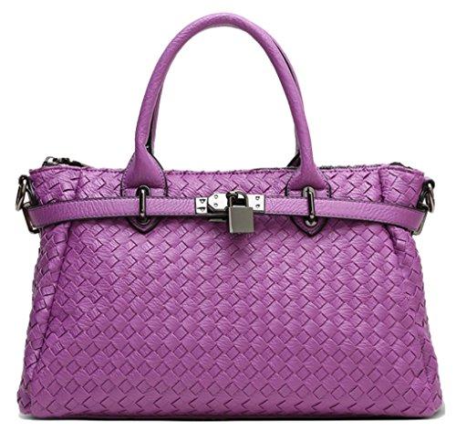 Yan Show, Borsa a tracolla donna rosa Pink Purple