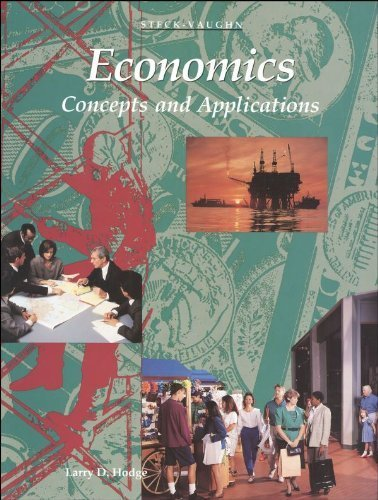 Economics: Concepts and Applications by Larry D. Hodge (1996) Hardcover