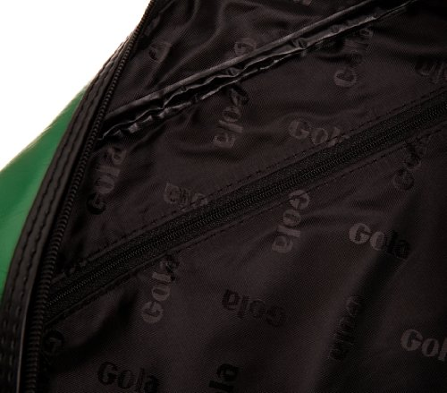 Gola Redford CUB901, Unisex - Erwachsene Henkeltaschen, 36x27x12 cm (B x H x T) Verde (Green/Black/Ecru)
