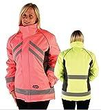 HyViz Waterproof Riding Jackets Yellow or Pink