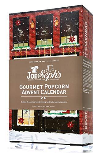 Joe & Seph's Popcorn Advent Calendar 2018 (Contains 24 x 5g bags of popcorn)