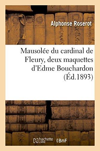 Mausole du cardinal de Fleury, deux maquettes d'Edme Bouchardon