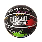 Best Basketball Balls - Optimum Street Basketball - Multi-Colour, Size 7 Review
