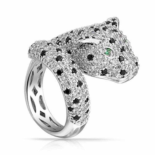 bling-jewelry-taches-noires-cz-simule-oeil-emeraude-panther-leopard-cocktail-plaque-rhodium-anneau
