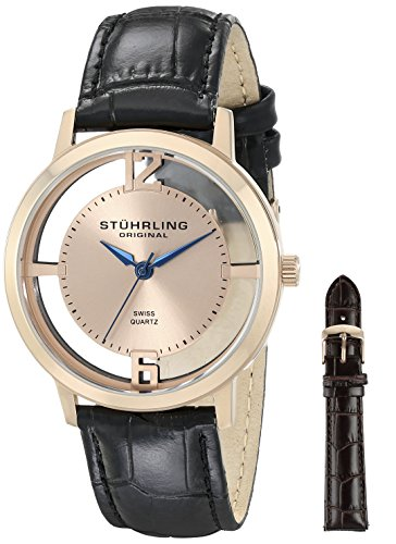 511reC%2BlDzL - Stuhrling Original Classic Pink Mens 388G2.SET.03 watch