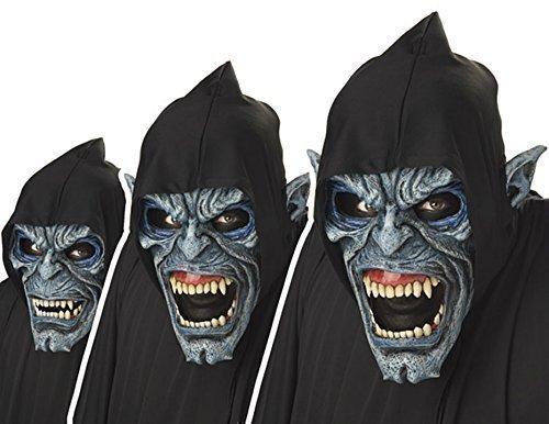(Animotion Night Stalker Zombie Maske Erwachsene bewegende Masken Halloween)