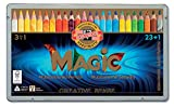 KOH-I-NOOR MAGIC Jumbo Triangular Coloured Pencil (Pack of 24)