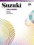 Suzuki Viola School 4 Revised, mit CD