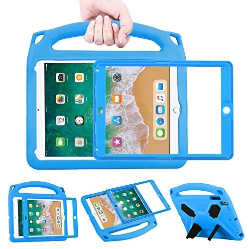 BelleStyle Funda para iPad 9.7 2018/2017, Cubierta Ligera portátil Kids Caso...