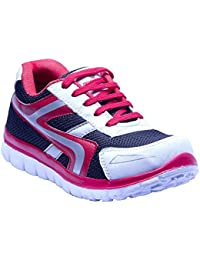 Savie Shoes White&Red Men's Casual Sport Shoes SSHVV08