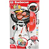 Planet Of Toys Barbecue Set With Light And Sound And Accessories For Kids, Children