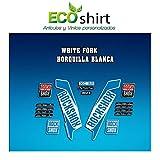 Ecoshirt 57-S5YI-EOED Stickers Fork Rock Shox Xc32 2017 Am121 Autocollants pour...
