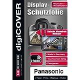 DigiCover B3424 Film de Protection d'écran pour Panasonic TZ 36 Transparent